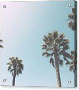 Summer Sky- By Linda Woods Acrylic Print