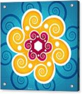 Summer Spiral Acrylic Print