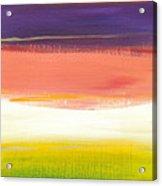 Summer Stripes Acrylic Print