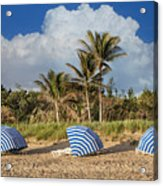 Summer Stripes Acrylic Print