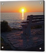 Summer Sunrise, Marginal Way, Ogunquit, Maine  -67904 Acrylic Print