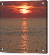 Summer Sunrise Rockport, Ma Acrylic Print