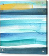 Summer Surf 2- Art By Linda Woods Acrylic Print