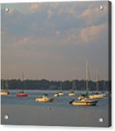 Summer Time At Little Neck Bay Acrylic Print