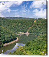 Summer View At Lovers Leap Acrylic Print