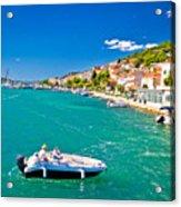 Summer View Of Tisno Coast Acrylic Print