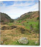 Summer, Watendlath Valley, Lake District National Park, Cumbria Acrylic Print