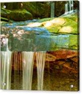 Summer Waterfall Acrylic Print