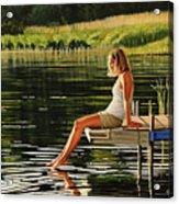 Summers Beauty Acrylic Print