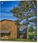 Summersville Mill Ozark National Scenic Riverways Dsc02626 Acrylic Print