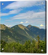 Summertime Alps In Germany Acrylic Print
