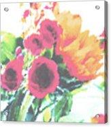 Summertime Blooms Acrylic Print