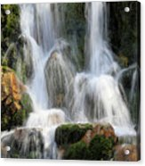 Summit Creek Waterfalls Acrylic Print