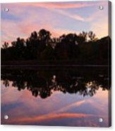 Summit Lake Sunset I  Acrylic Print