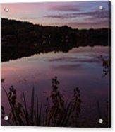 Summit Lake Sunset II  Acrylic Print