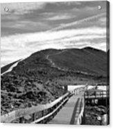 Summit Of Whistlers Mountain Acrylic Print
