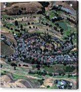 Summitpointe Golf Club Golf Course Aerial Acrylic Print