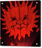 Sun And Fire Acrylic Print
