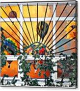 Sun And Hot Air Acrylic Print