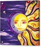 Sun And Moon  Acrylic Print