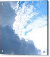 Sun Behind The Clouds 3 Acrylic Print