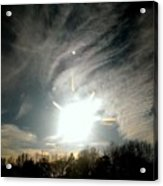 Sun Dog And Sunshine Acrylic Print