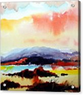 Sun Down Acrylic Print
