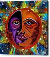 Sun Duality Acrylic Print