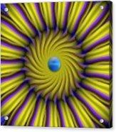 Sun Flower Acrylic Print by Bobby Hammerstone