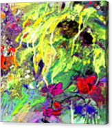Sun Flower Bouquet Acrylic Print