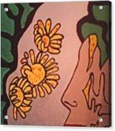 Sun Flower Conection Acrylic Print