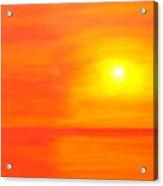 Sun Glow II Acrylic Print