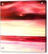 Sun Glow Acrylic Print