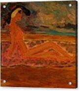 Sun Goddess Acrylic Print by Marie Bulger