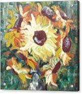 Sun In A Vase Acrylic Print