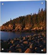 Sun Kissed Acadia Acrylic Print