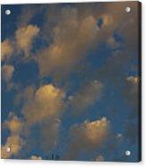 Sun Kissed Clouds Acrylic Print
