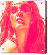 Sun Kissed Pearlesqued Acrylic Print