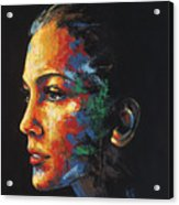 Sun Kissed - With Hidden Pictures Acrylic Print