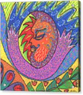 Sun Man Acrylic Print
