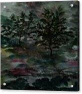 Sun Meadow Acrylic Print