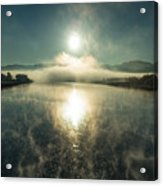 Sun O'er Missouri River Acrylic Print