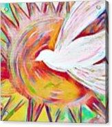 Healing Wings Acrylic Print