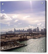 Sun Over Miami Acrylic Print