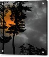 Sun Over Spring Ridge Acrylic Print