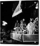 Sun Ra Arkestra At The Red Garter 1970 Nyc 11 Acrylic Print