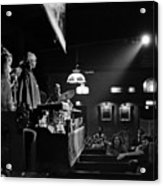 Sun Ra Arkestra At The Red Garter 1970 Nyc 12 Acrylic Print