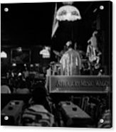 Sun Ra Arkestra At The Red Garter 1970 Nyc 15 Acrylic Print