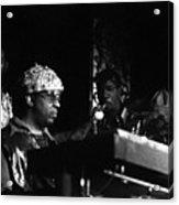 Sun Ra Arkestra At The Red Garter 1970 Nyc 23 Acrylic Print