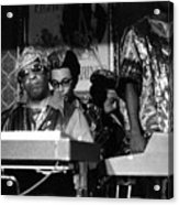 Sun Ra Arkestra At The Red Garter 1970 Nyc 36 Acrylic Print